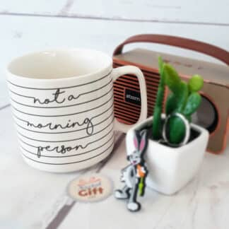 "Mug Looney Tunes - Daffy Duck "" not a morning person"""