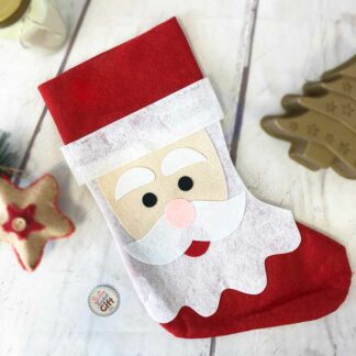 Chaussette de Noël  - Décoration Père Noël