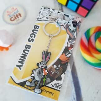 Porte clé Looney Tunes - Bugs Bunny Personnage 3D