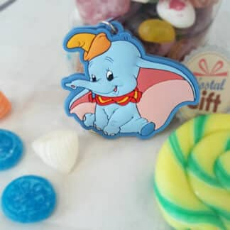 Porte clé Disney - Dumbo Bleu