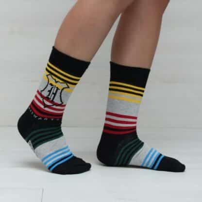 Coffret cadeau -  3 paires de chaussettes en coton Harry Potter