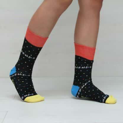 Coffret cadeau -  3 paires de chaussettes en coton Friends