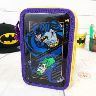 Batman - Trousse métallique 3 compartiments avec accessoires
