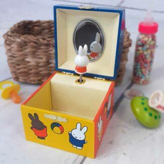 Boîte à musique colorée - Miffy