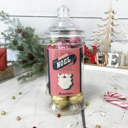 Bonbonnière de Noël - Chocolats fruits à la liqueur