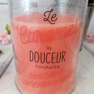 Grande bougie Parfumée Bonbonnière - Senteur Caramel