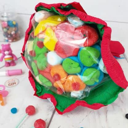 Grand bouquet de bonbons - Rouge (310 g)