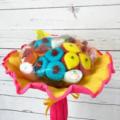 Grand bouquet de bonbons - Rose (310 g)