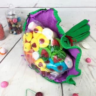 Grand bouquet de bonbons - Vert (310 g)