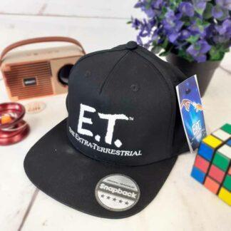 Casquette noire et blanche : E.T l'extraterrestre