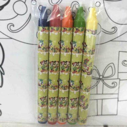 Sets de table de Noël Mickey à colorier