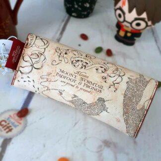Etui à lunette Harry Potter- Carte du Maraudeur