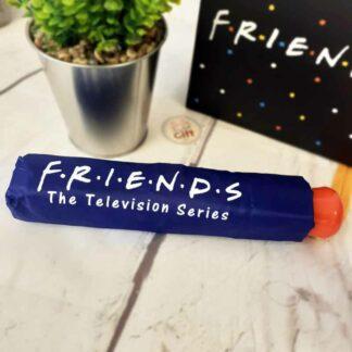 Friends - Parapluie pliant bleu Friends
