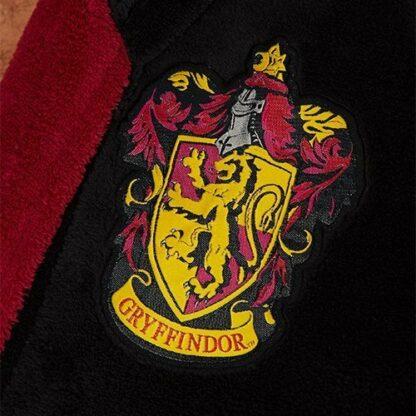 Harry Potter Peignoir avec capuche - Logo Gryffondor