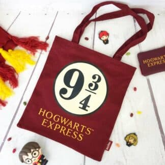 Harry Potter - Tote bag 9 3/4 Hogwarts Express bordeaux