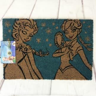 Paillasson la Reine des Neiges - Elsa et Anna