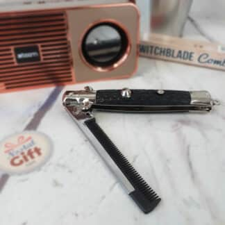Peigne à cheveux - Faux couteau de poche
