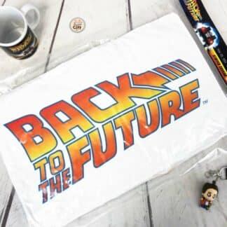 Retour vers le Futur- Coussin Out a Time