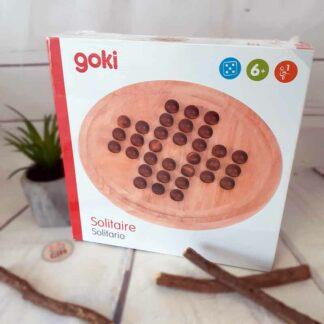 Jeu du solitaire en bois - jeu de société (Goki)