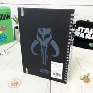 Star Wars cahier A5 The Mandalorian - Le Mandalorien personnage