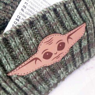 Bonnet unisex couleur Kaki: Bébé Yoda (The Mandalorian)