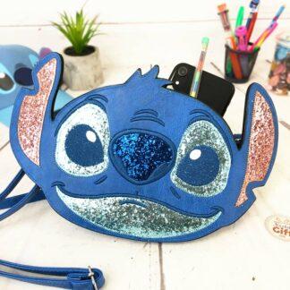 Disney - Sac à main Stitch 3D en Similicuir