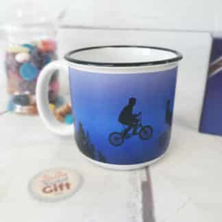 Mug E.T. l'extra-terrestre sur son vélo