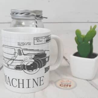 Mug retour vers le futur - Time Machine Plan
