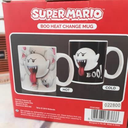 Mug Booh (Super Mario) thermoréactif