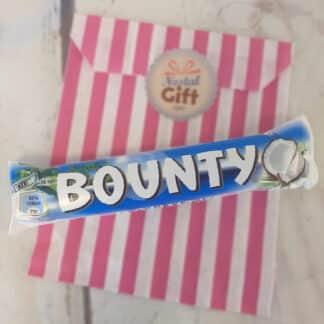 Lot de 2 mini barres de chocolat Bounty