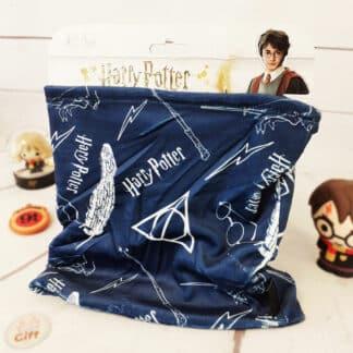 Harry Potter - Cache-cou polaire bleu symbole pour enfant