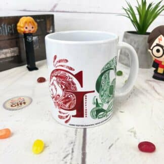 Harry Potter - Mug monogrammes des 4 Maisons