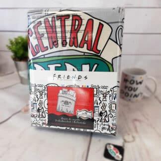 Friends - Parure / Housse de lit en coton Central Perk 2 personnes