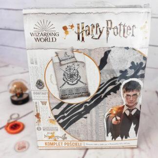 Harry Potter - Parure / Housse de lit bordeaux en coton (140 x 200 cm)