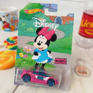 Disney - Petite voiture Hot Wheels Minnie Mouse