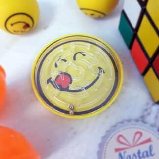 Casse-tête à billes - Jeu de patience Smiley