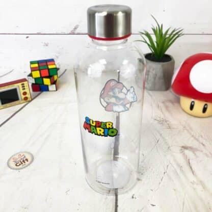 Super Mario - Bouteille d'eau en plastique