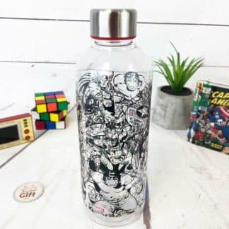 Marvel - Bouteille d'eau en plastique design rétro