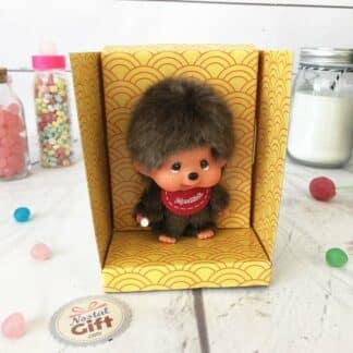 Mini Peluche Monchhichi Kiki