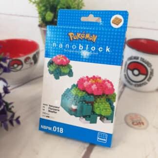 Nanoblock - Florizarre - Pokemon - Figurine mini à monter