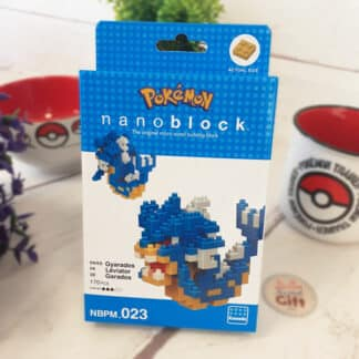 Nanoblock - Léviator - Pokemon - Figurine mini à monter