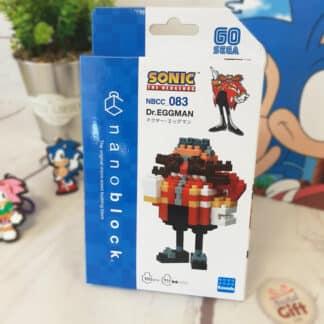 Nanoblock - DR. Eggman - Sonic The Hedgehog - Figurine mini à monter