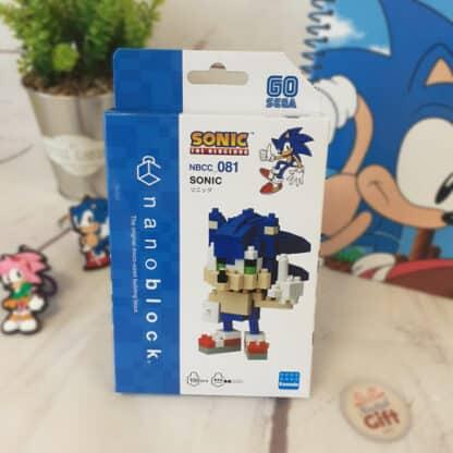 Nanoblock - Sonic The Hedgehog - Figurine mini à monter