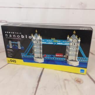 Nanoblock - Tower Bridge Londres - Monument à monter