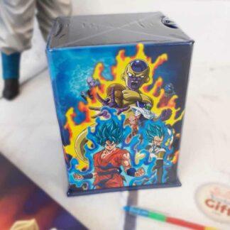 Dragon Ball - Boite à crayon bleu