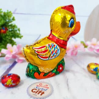 Petit Canard de Pâques en chocolat (100 g)