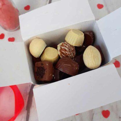 Cadeau Saint-Valentin - Ballotin de 17 chocolats Belges
