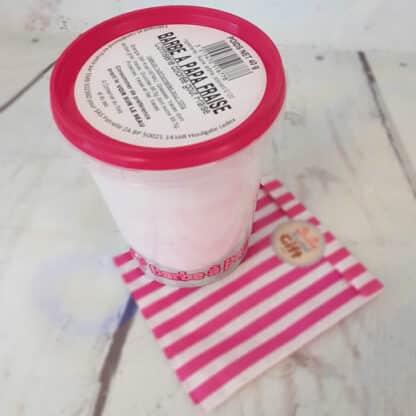 Pot de barbe à papa goût fraise (40 g)