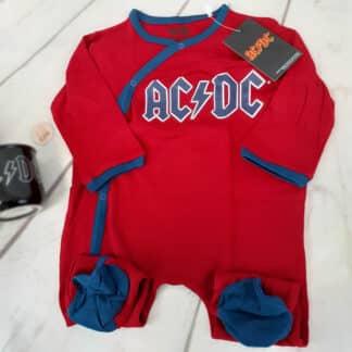 AC/DC - Barboteuse body pour bébé