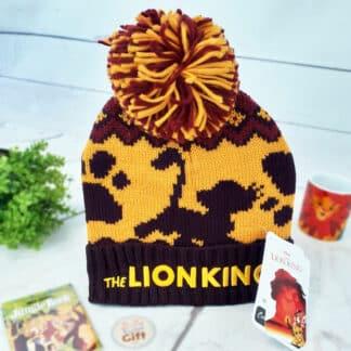 Disney - Bonnet pour enfant à Pompon Roi Lion